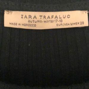 Zara Tops - Zara hunter green ruffle sleeve top